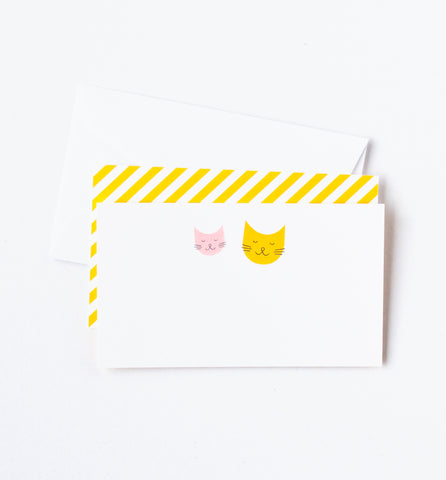 Kitty Friends Mini Notes