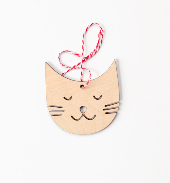 Kitty Friend Ornament