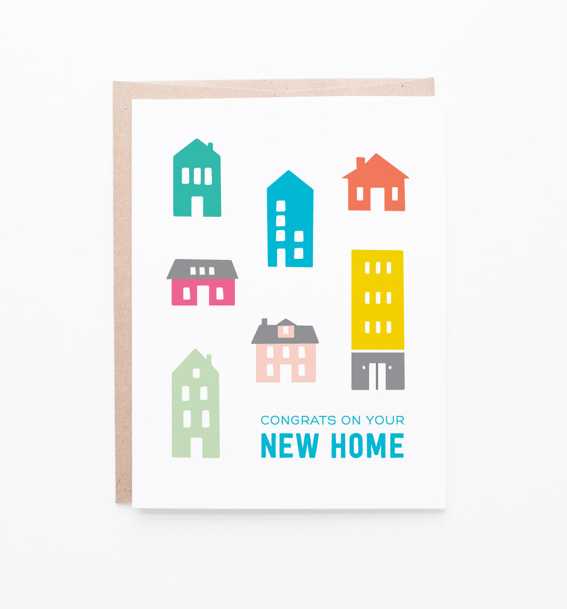 New Home Congratulations Card Graphic Anthology