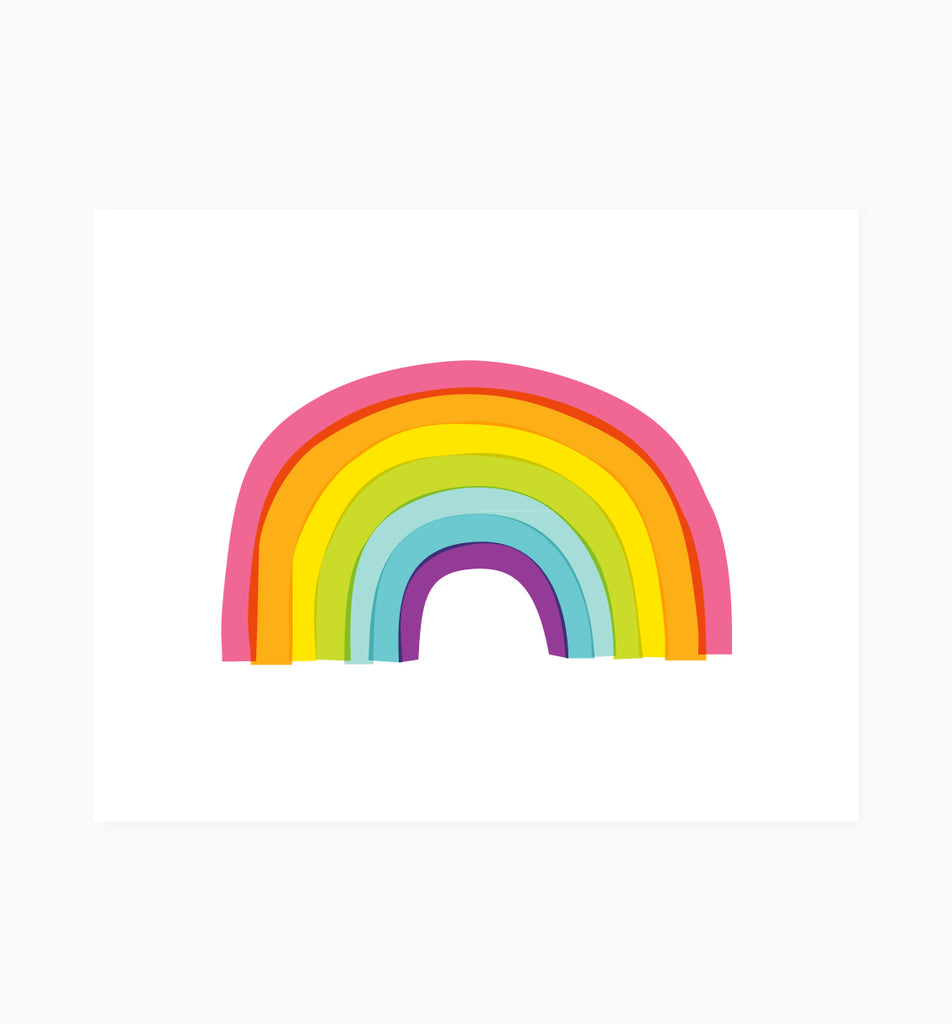 Rainbow Art Print Graphic Anthology