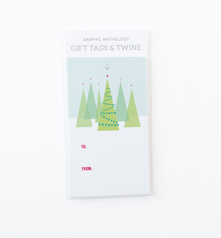 Seasonal Trees Gift Tags