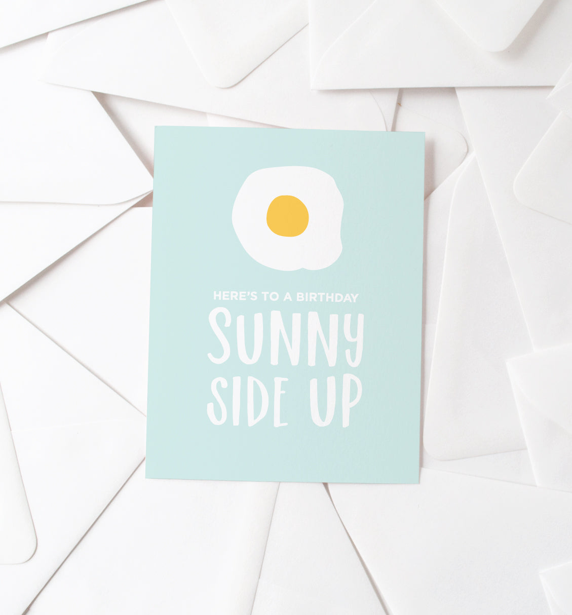 Sunny Side Up card