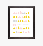 It Takes A Village art print
