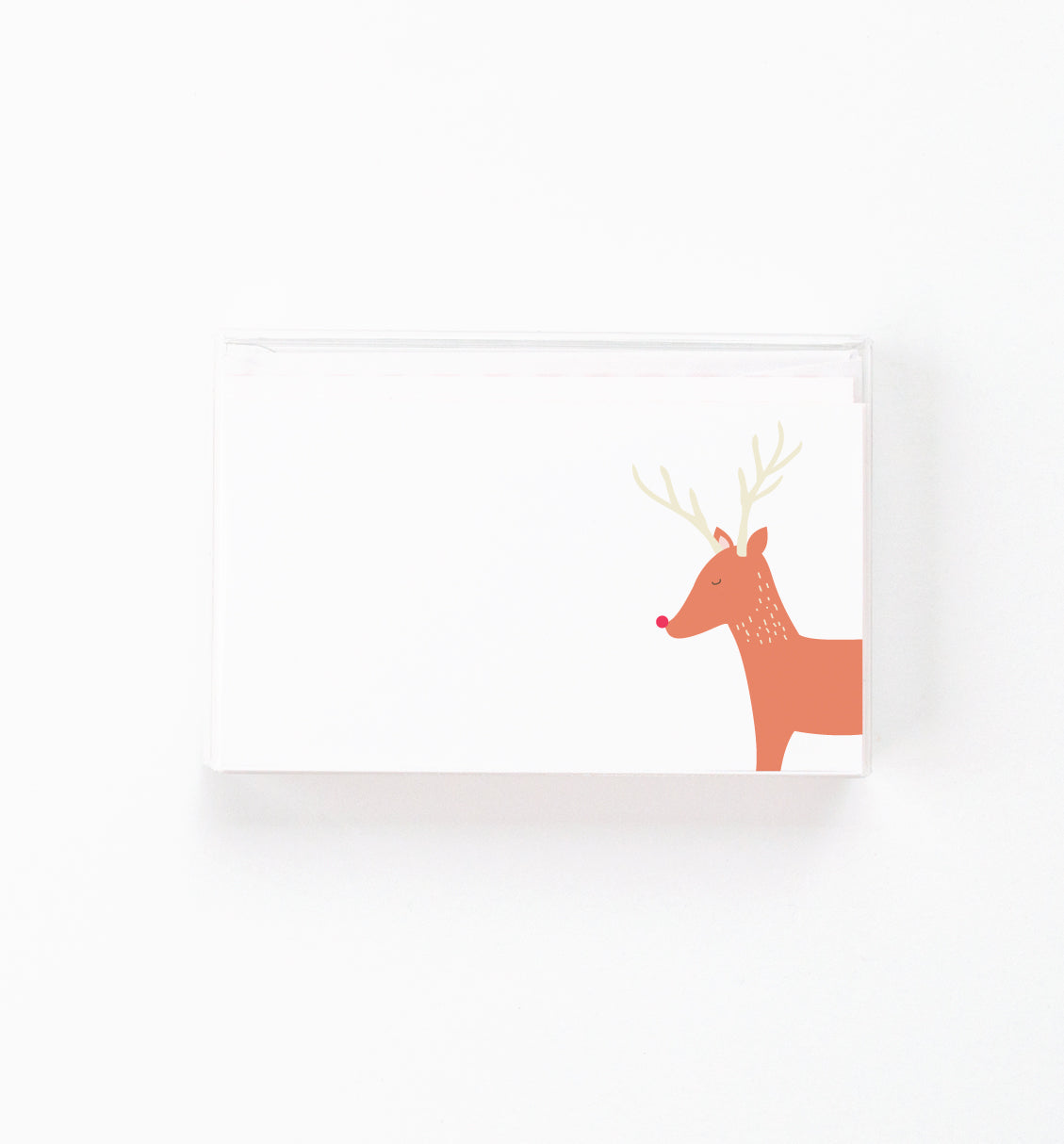 Woodland Reindeer Mini Notes
