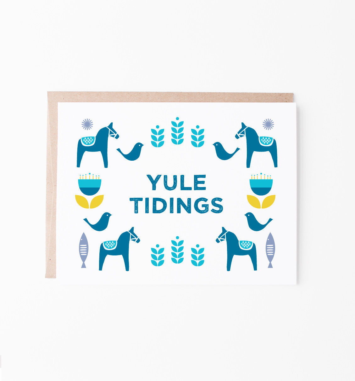 Yule Tidings holiday card
