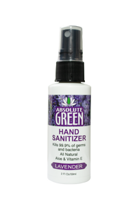 Hand Sanitizer - Lavender 2 oz