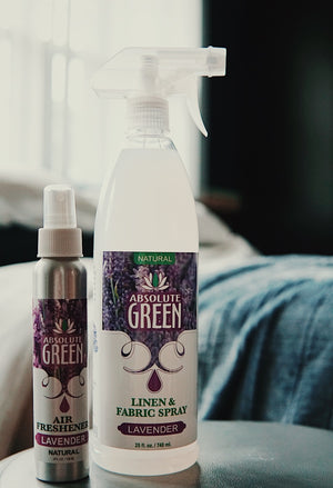Lavender Linen and Fabric Spray & Air Freshener BUNDLE