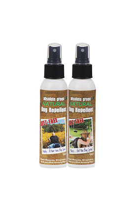 Man/Woman Deet Free Bug Repellent - Natural