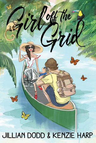 Girl off the Grid -Retro