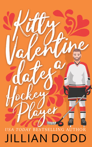 Flat Hottie Hockey Player + Book