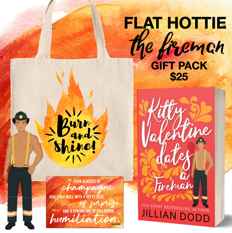 FLAT HOTTIE FIREMAN PACK