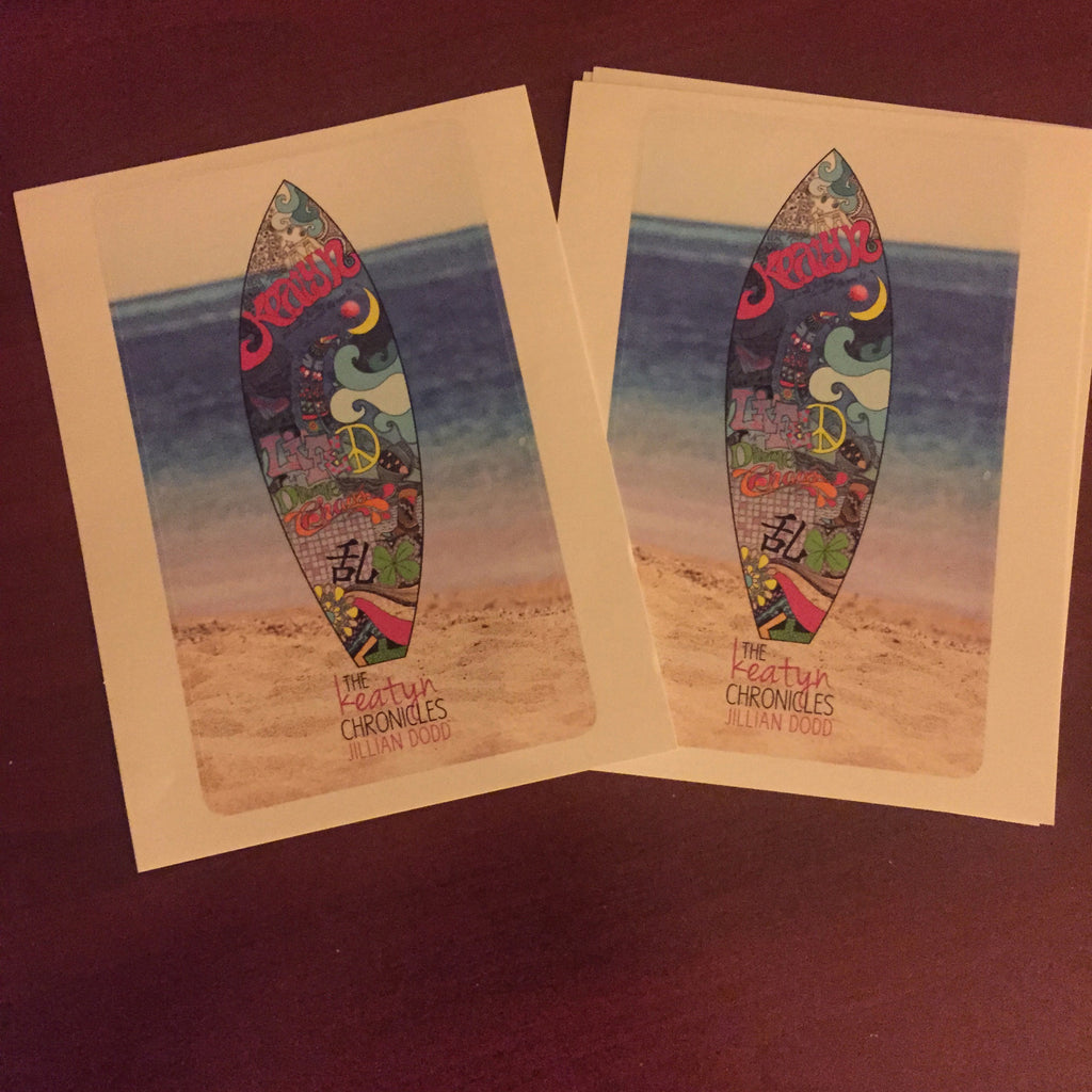 The Keatyn Chronicles Surfboard Stickers