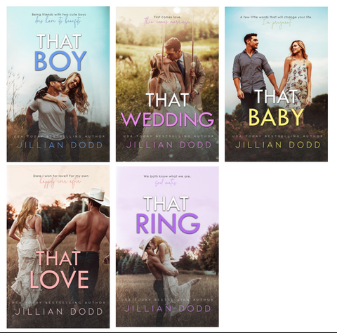 That Boy Series Full Paperback Set