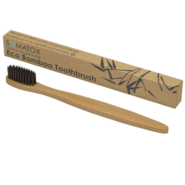 The Bamboo Eco Toothbrush - Activated Charcoal Bristles