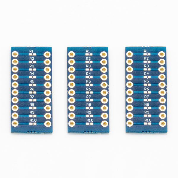 0402 Breakout Board - Set of 3