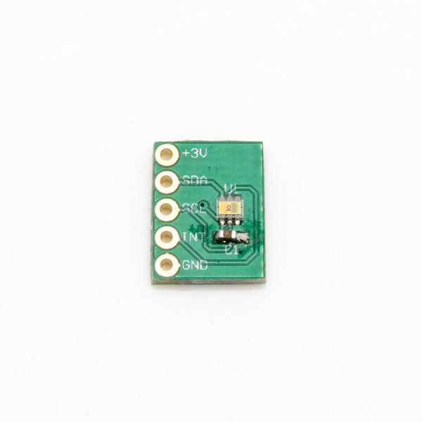 Color Light-to-digital Converter with IR Filter - TCS34725