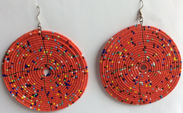 Masai Earrings - Handmade In Kenya