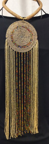 Masai Inspired Beaded Necklace