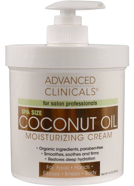 Intensive Beauty Cream - Argan or Coconut Advanced Clinicals Spa Size