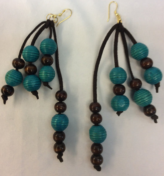 Ethnic Inspired Statement Earrings - Handmade Jewelry
