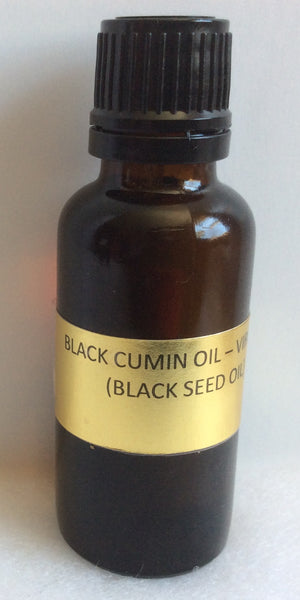 BLACK CUMIN - BLACK SEED OIL