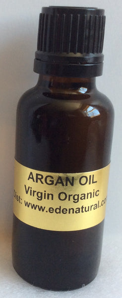 ARGAN OIL - Virgin Organic (1 OZ)