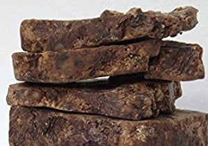 African Black Soap in Bulk Sizes - Product of Ghana