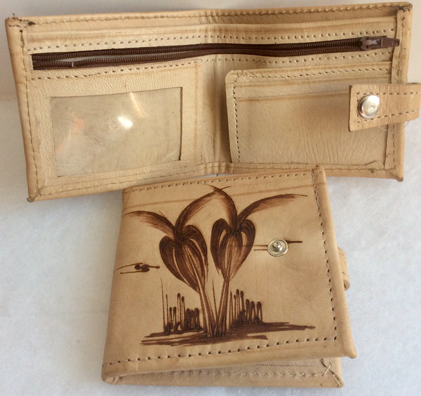 LEATHER WALLET - Burkina Faso