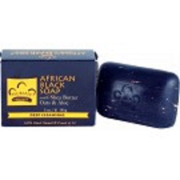 The Nubian Heritage African Black Soap combines the ancient medicinal properties of black soap with the hydrating properties of Shea Butter to balance problem skin. This traditional African Black Soap recipe contains palm ash, plantain peel extract, tamarind extract and papaya enzymes. This powerful combination has traditionally been used to treat eczema, acne, oily skin, psoriasis, and other skin ailments. In the apothecary tradition, Nubian Heritage updates African Black Soap with active botanical extracts and salicylic acid to more effectively treat acne, balance skin tone and improve skin texture. Daily use of this product will result in cleaner, clearer, healthier skin.