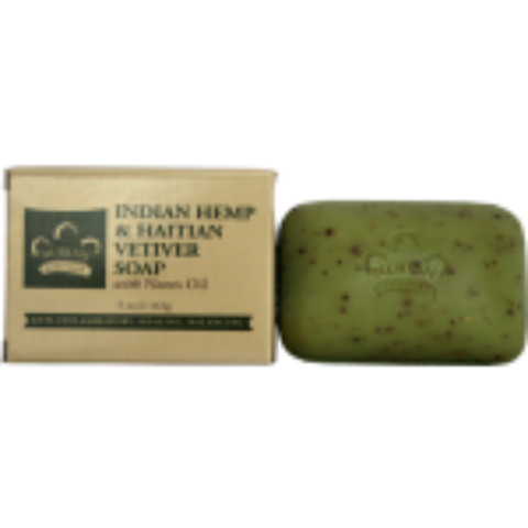 Nubian Heritage Organic Indian Hemp & Haitian Vetiver Soap