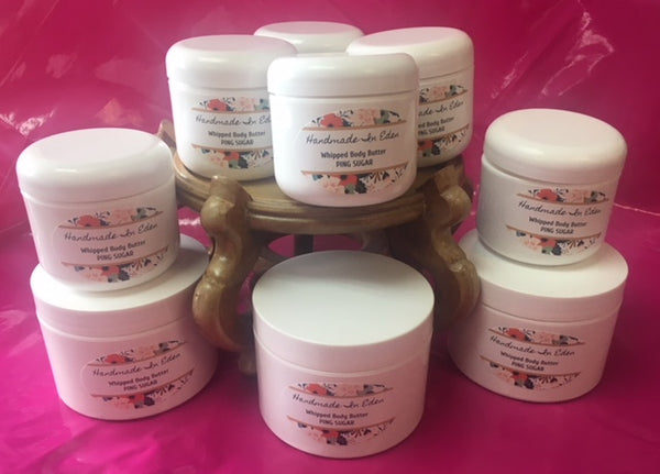 Freshly Whipped Body Butter Cream - HandmadeInEden