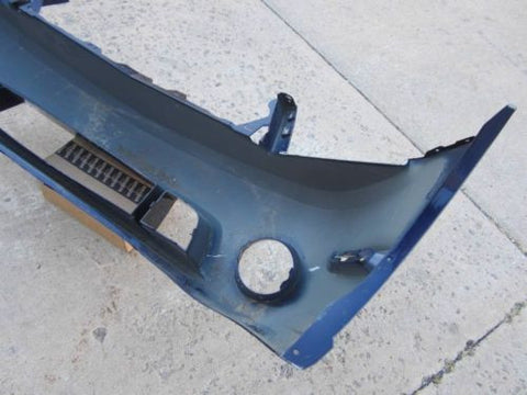 2010 2011 2012 Ford Mustang GT V8 Roush Front Bumper Cover Blue #14
