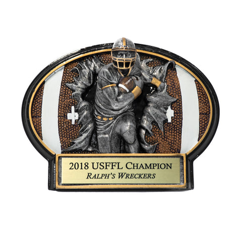 Football Burst Fantasy League Trophy