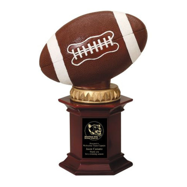 Pedestal Football Champion Trophy