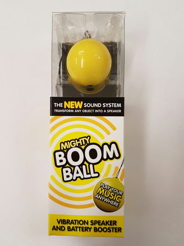 Mighty Boom Ball Speaker-Only Yellow Remaining