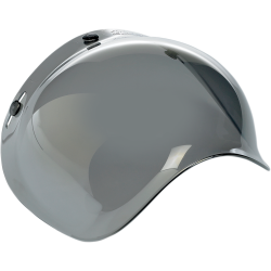 Biltwell Bubble Shield-Mirror/Smoke