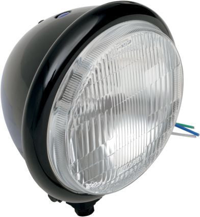 5 3/4 Halogen Headlight (Gloss Black)