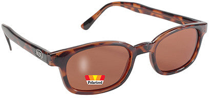 KDX's Polarized Sunglasses-Dark Tortoise/Amber