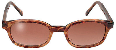 KD's Sunglasses-Tortoise/Brown Gradient