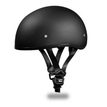 Daytona DOT 1/2 Helmet-Dull Black