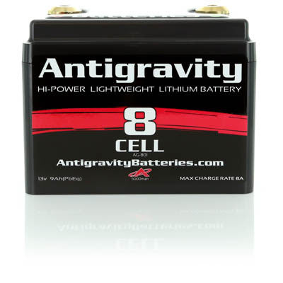 Antigravity - AG-801 Battery (for bikes up to 750cc)