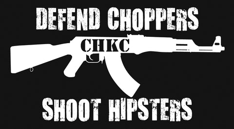 "CHKC ""Shoot Hipsters"" Sticker"
