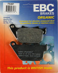 EBC FA387 04-13 Sportster Rear Brake Pads