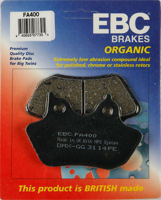 Copy of EBC FA400 00-07 Big Twin Brake Pads