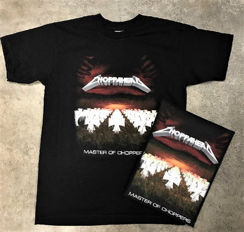 "Choppahead ""Master of Choppers"" -  T-Shirt & Patch Bundle!"