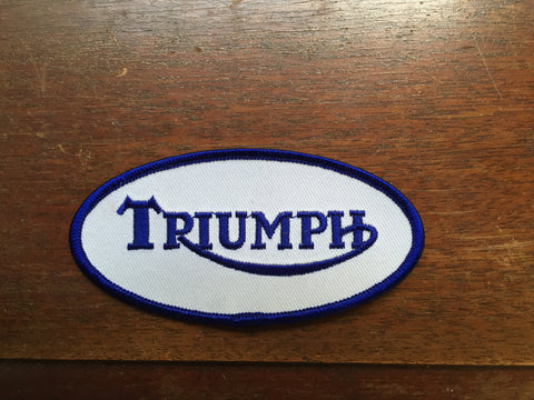 Triumph Patch Oval-Small