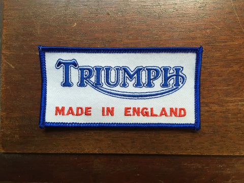 Triumph Patch Square-Small