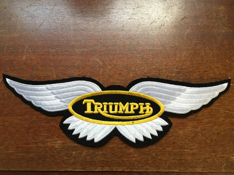 Triumph Patch-Large