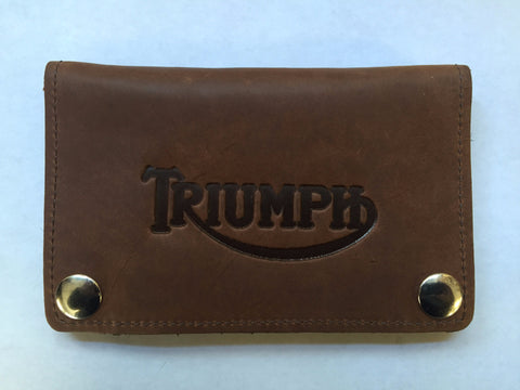 "Reynoso 6"" Triumph Wallet-Tan/Black"