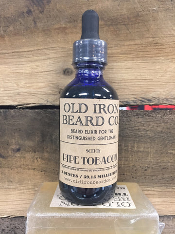 Old Iron Beard Co. Beard Oil - Pipe Tobacco